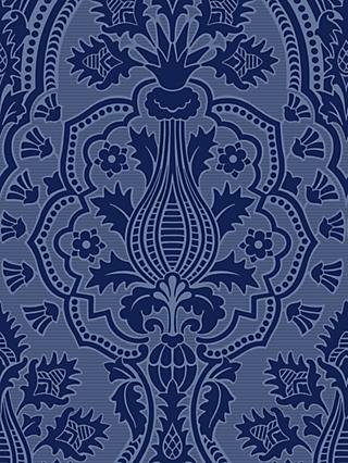 Cole & Son Pugin Palace Flock Wallpaper
