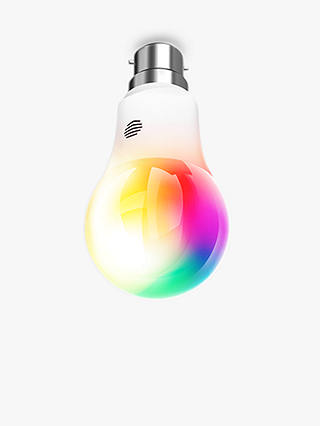 Buy Hive Active Light Colour Changing Wireless Lighting LED Light Bulb, 9.5W A60 B22 Bayonet Bulb, Pack of 3 with Hive Hub Online at johnlewis.com