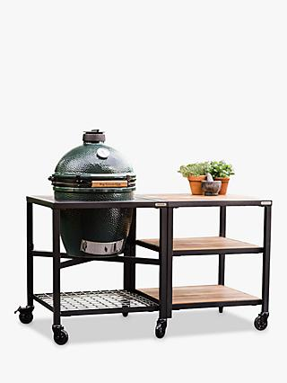 Big Green Egg Large BBQ and Modular Nest Expansion Bundle