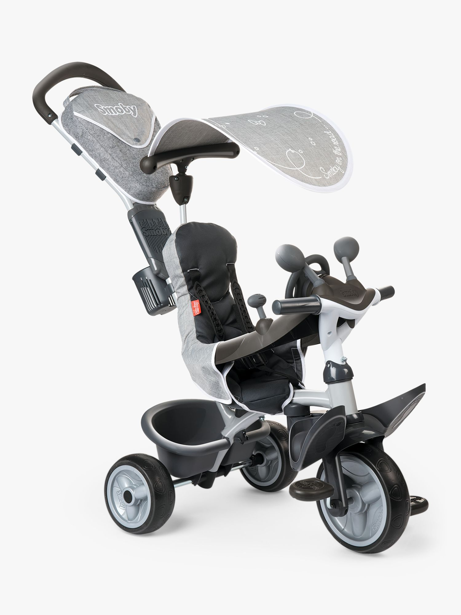 Smoby Smoby Baby Driver Tricycle, Grey
