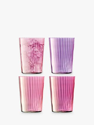 LSA International Gio Gem Highball Glasses, Set of 4, 560ml