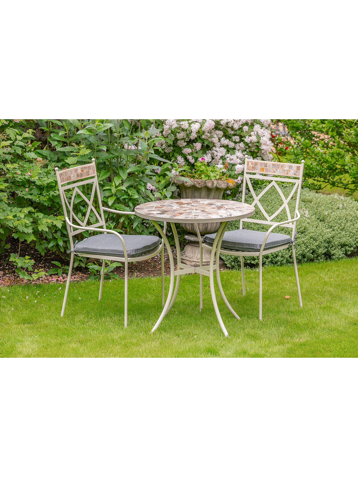 Buy LG Outdoor Morocco 2-Seater Garden Bistro Table & Chairs Set Online at johnlewis.com