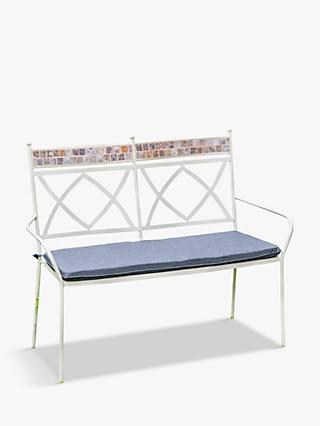 LG Outdoor Morocco 2-Seat Garden Bench & Cushion