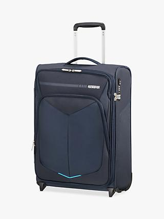 American Tourister Summer Funk 55cm 2-Wheel Upright Cabin Case, Navy