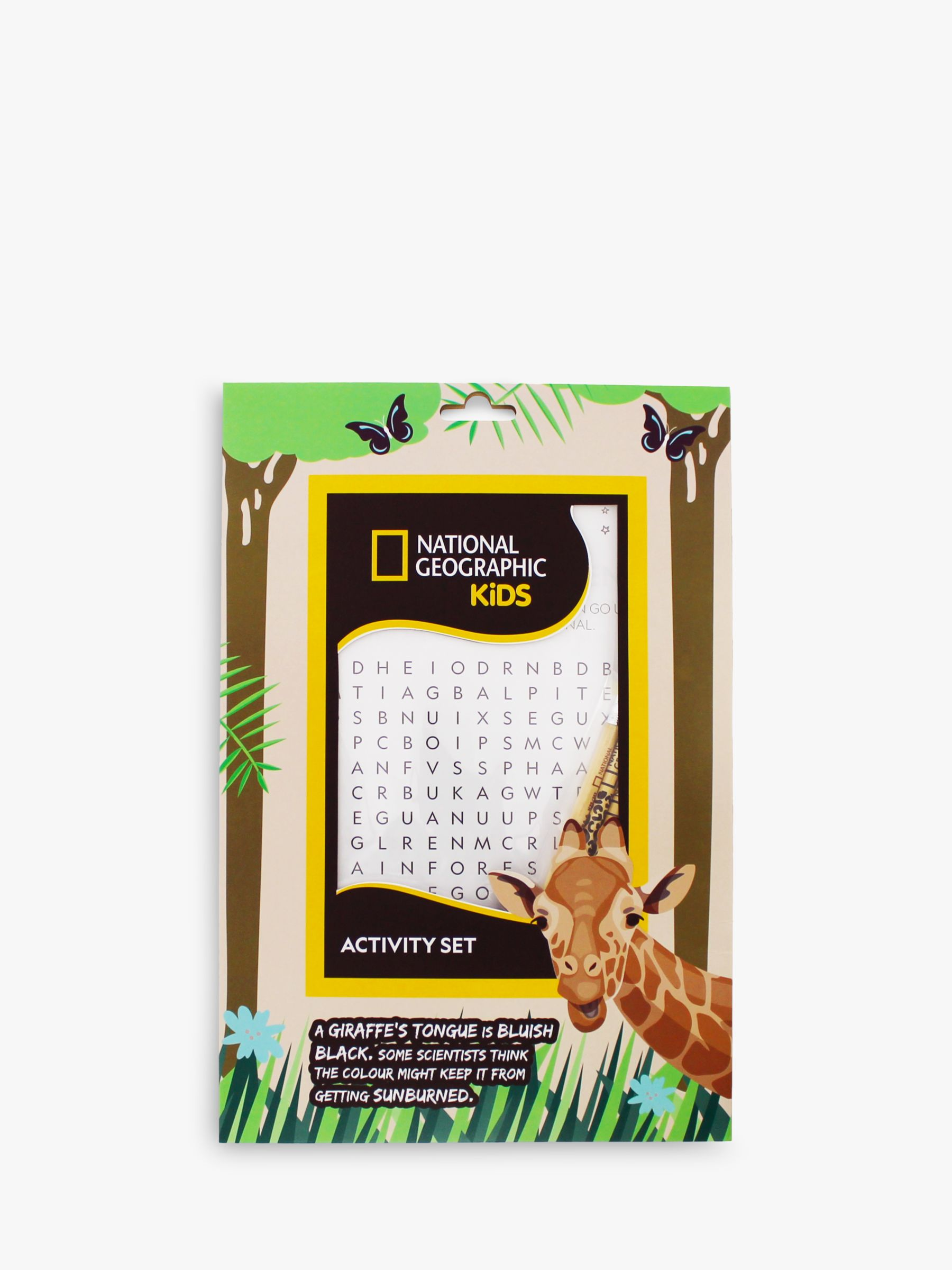 National Geographic National Geographic Colouring Activity Pack