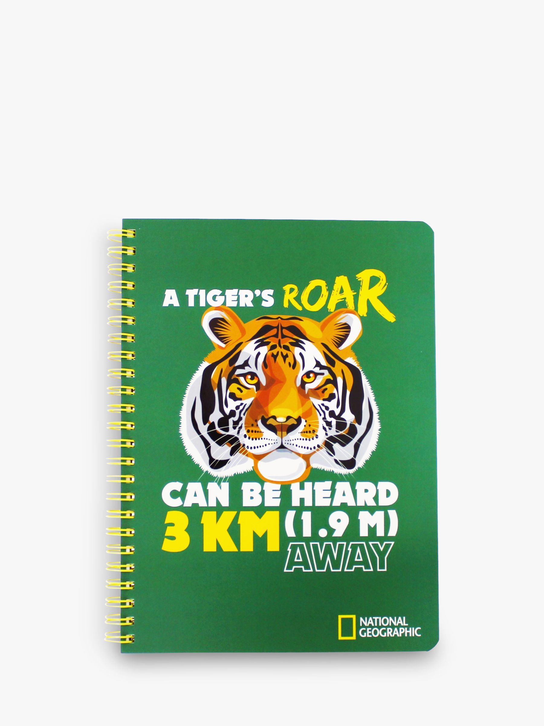 National Geographic National Geographic A5 Animal Facts Notebook