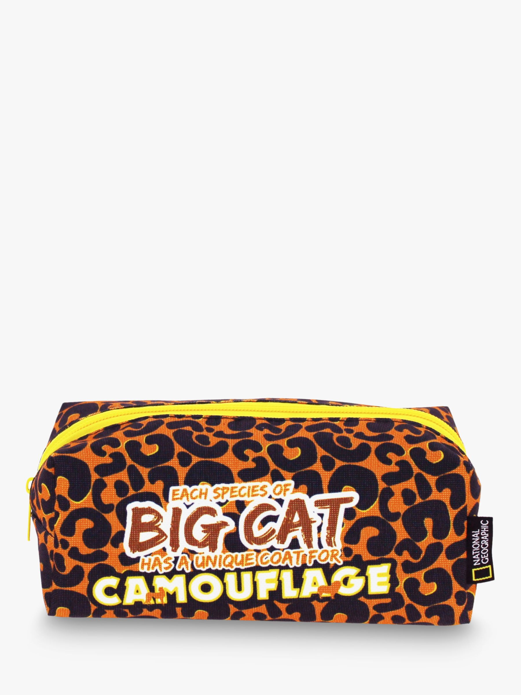 National Geographic National Geographic Big Cat Pencil case