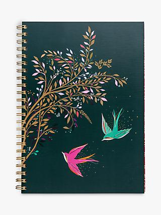 Sara Miller A4 Swallows Notebook