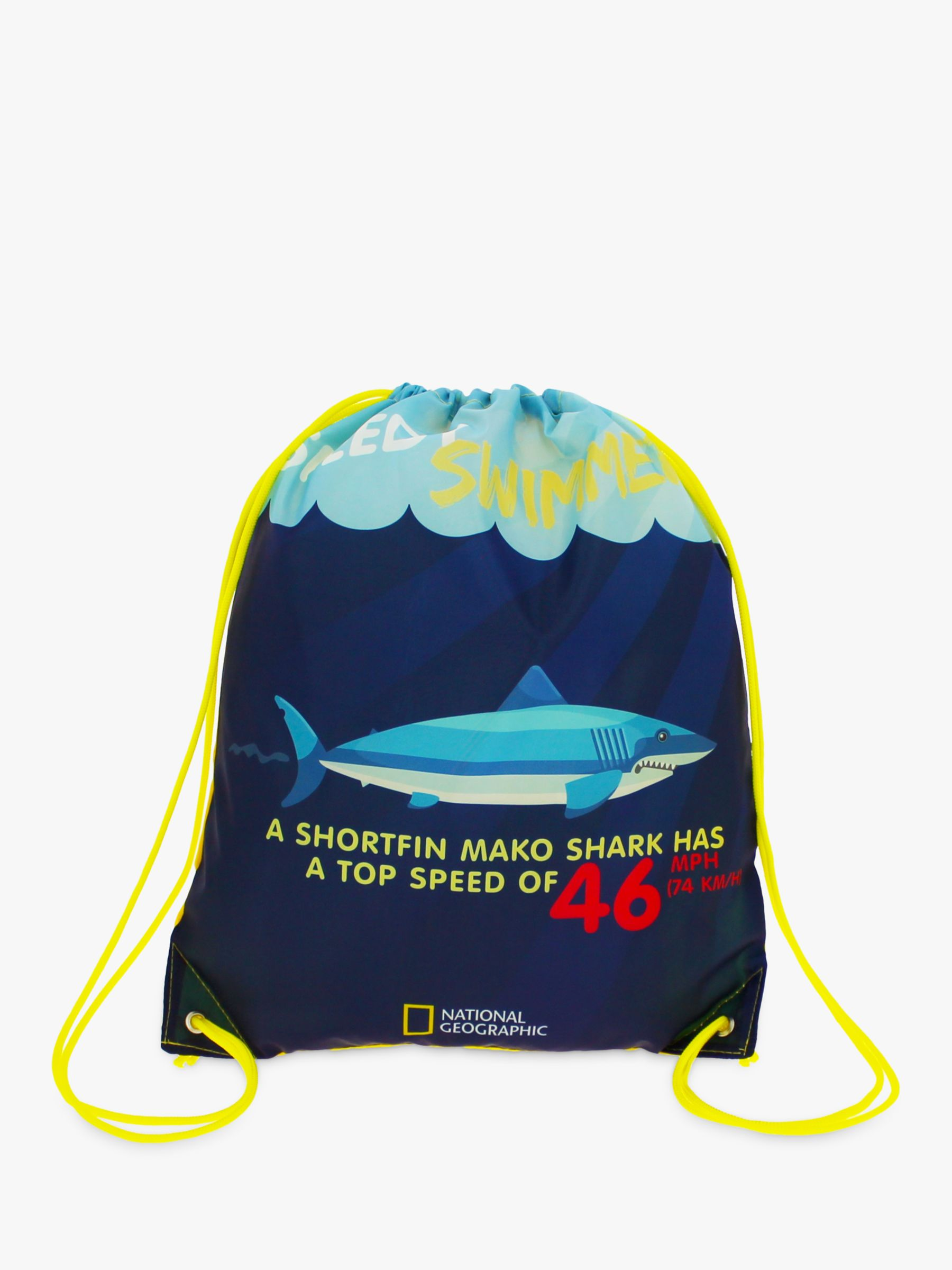 National Geographic National Geographic Shark Fact Children's Trainer Bag