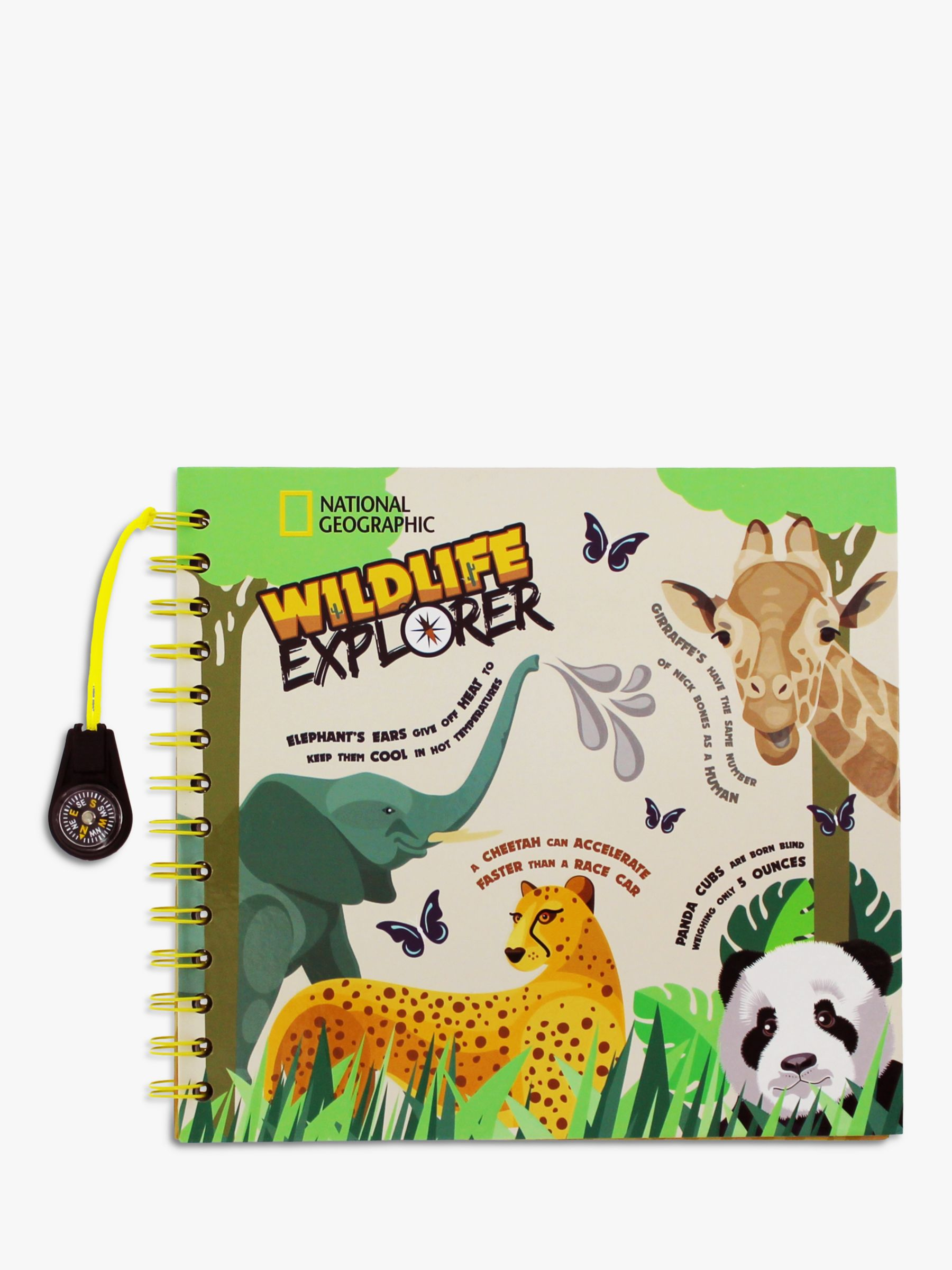 National Geographic National Geographic Wildlife Explorers Journal