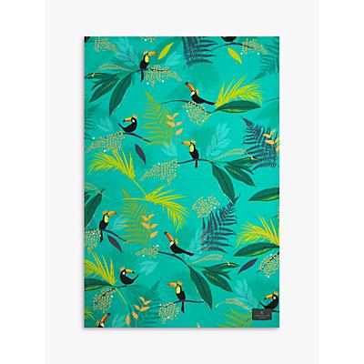 Sara Miller Toucan Tea Towel, Green/Multi