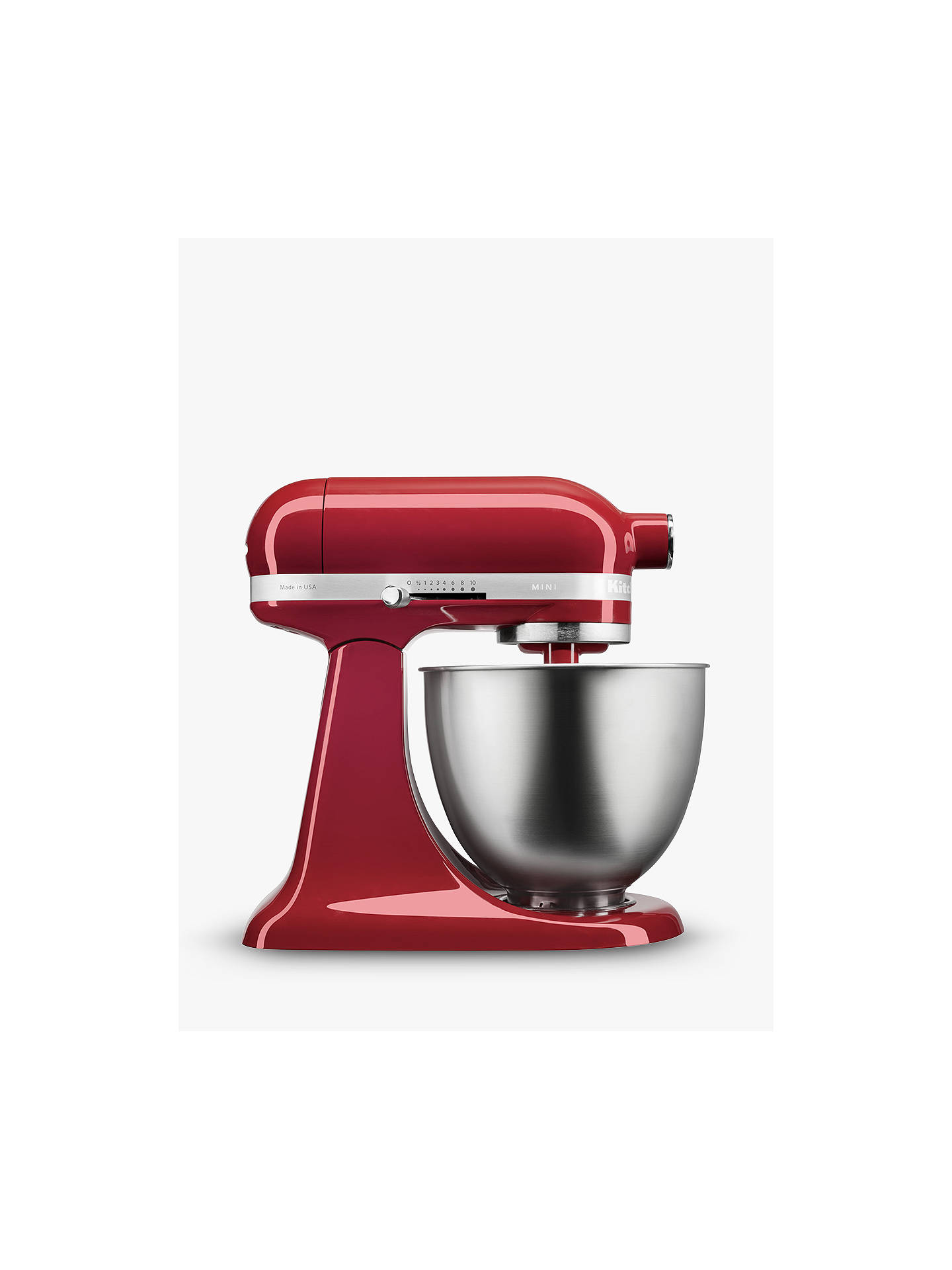 Buy KitchenAid Mini Stand Mixer, Empire Red Online at johnlewis.com