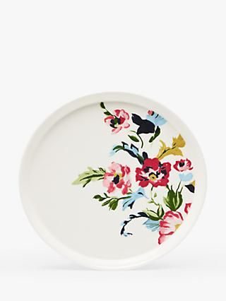 Joules Cambridge Floral Dinner Plate, 27cm, Pink/Multi