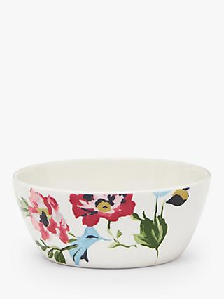 Joules Cambridge Floral Cereal Bowl, 14cm, Pink/Multi