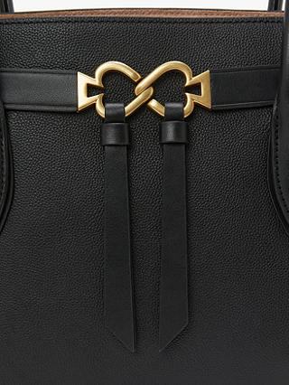 Buy kate spade new york Toujours Medium Leather Satchel Bag, Black Online at johnlewis.com