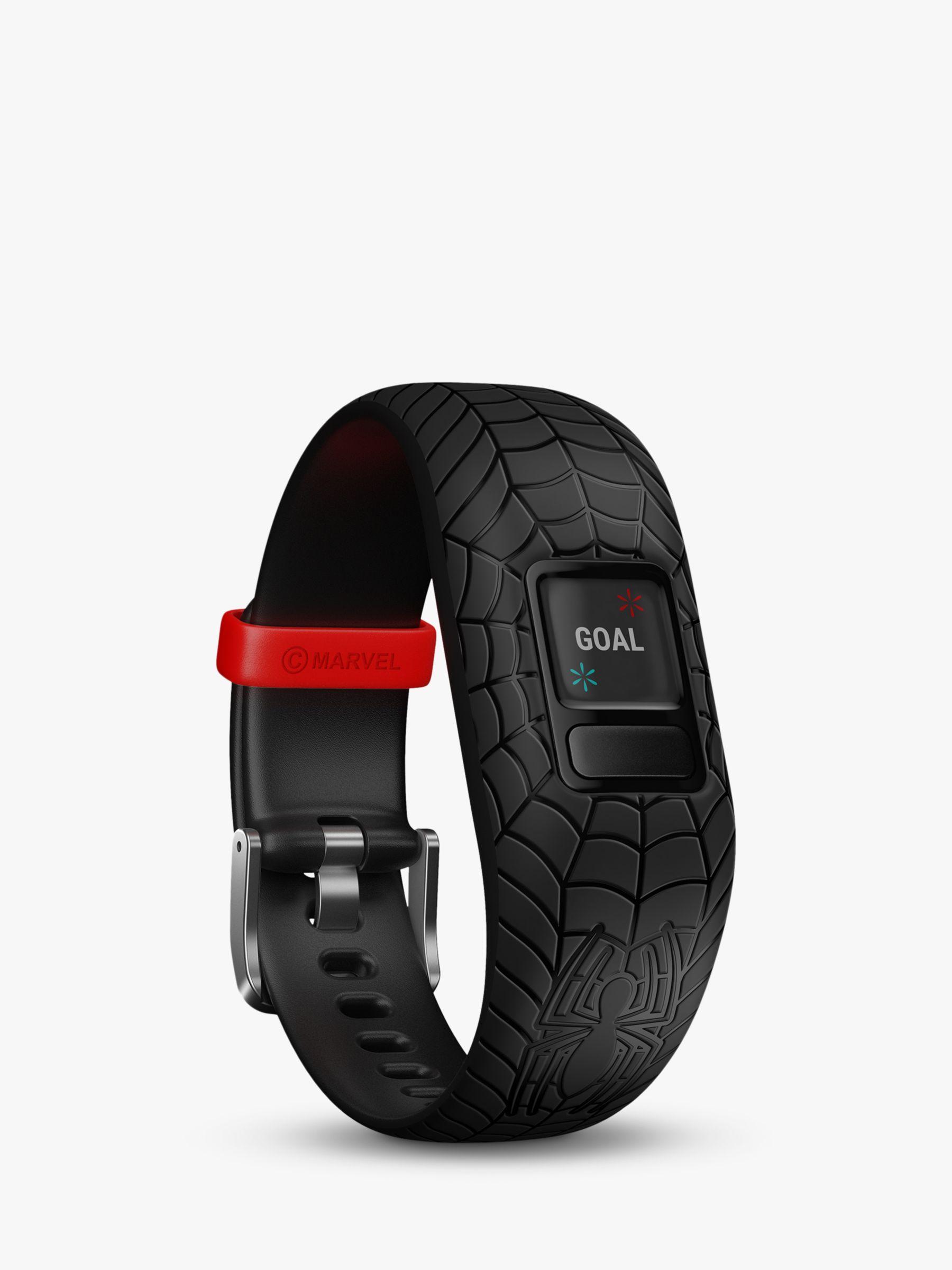 Garmin Garmin vivofit jr. 2, Adjustable Marvel Spider-Man Activity Tracker and Watch for Children, Black