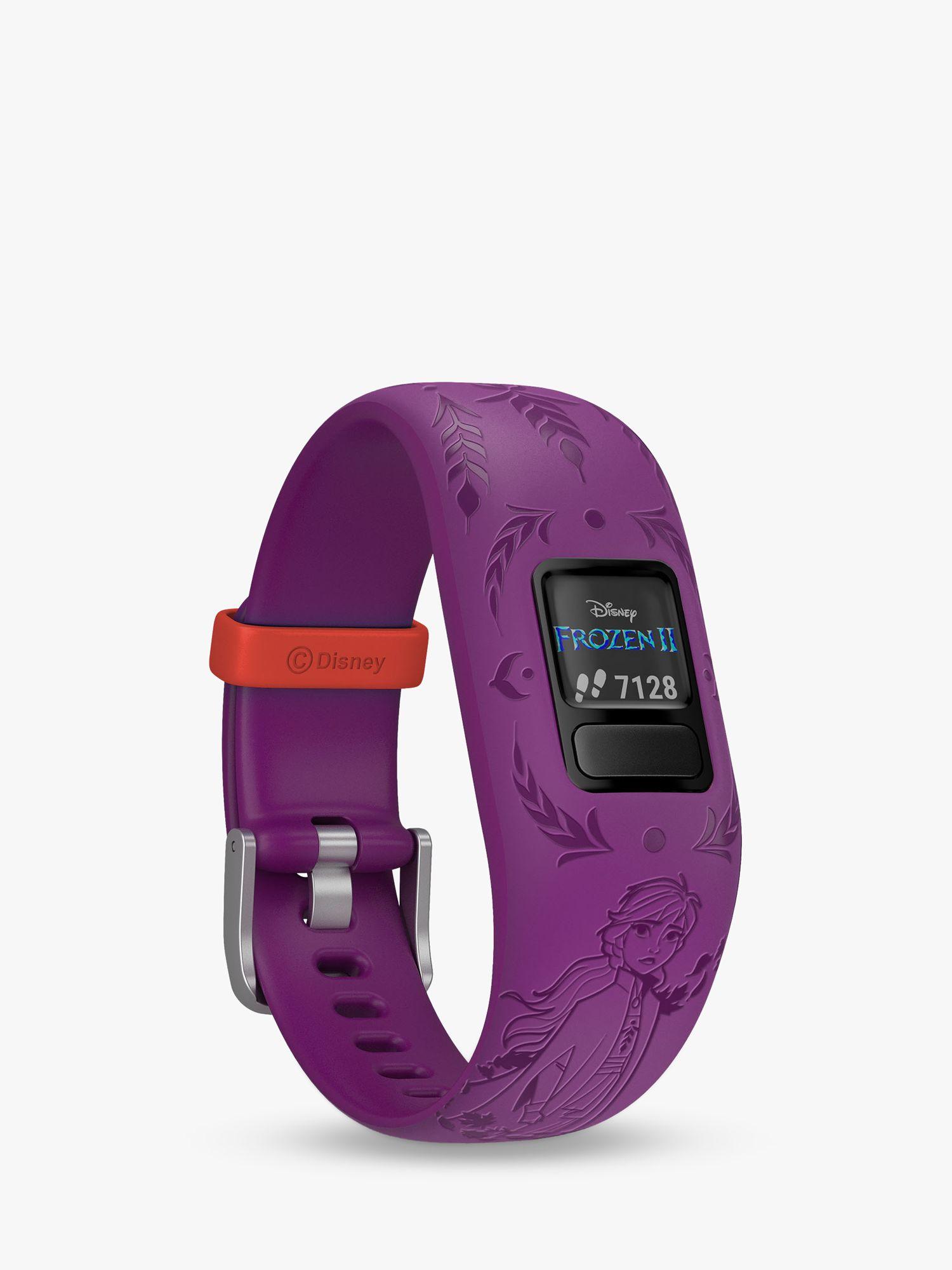 Garmin Garmin vivofit jr. 2, Adjustable Disney Frozen 2, Anna Activity Tracker and Watch for Children