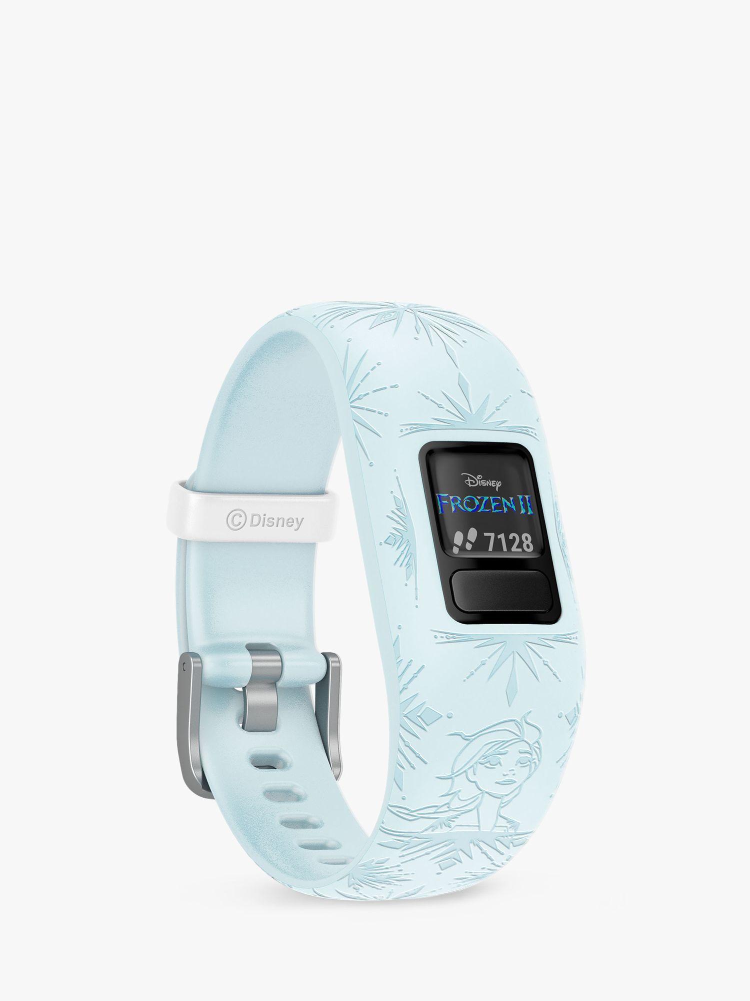 Garmin Garmin vivofit jr. 2, Adjustable Disney Frozen 2 Elsa Activity Tracker and Watch for Children