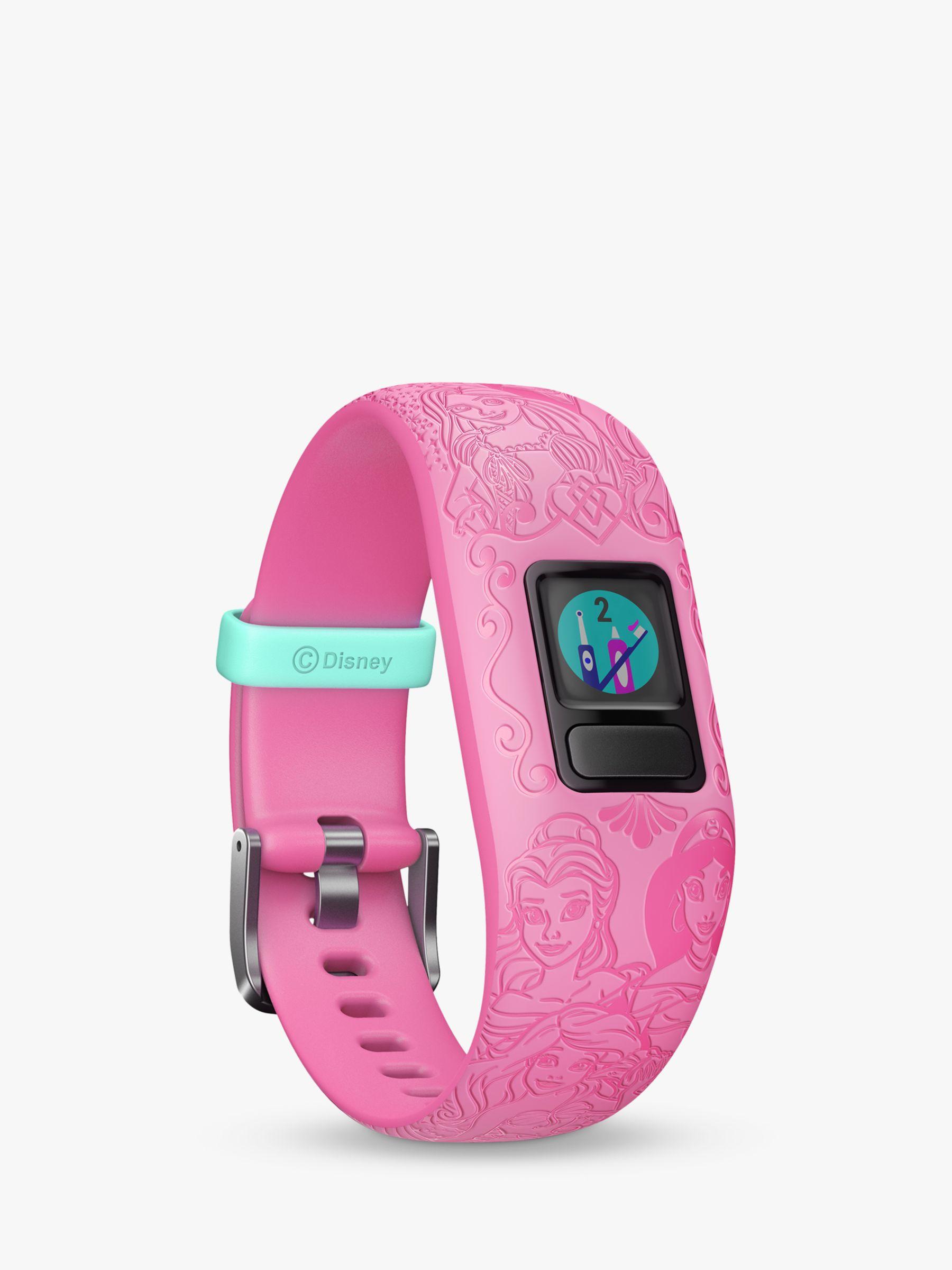 Garmin Garmin vivofit jr. 2, Adjustable Disney Princess Activity Tracker and Watch for Children