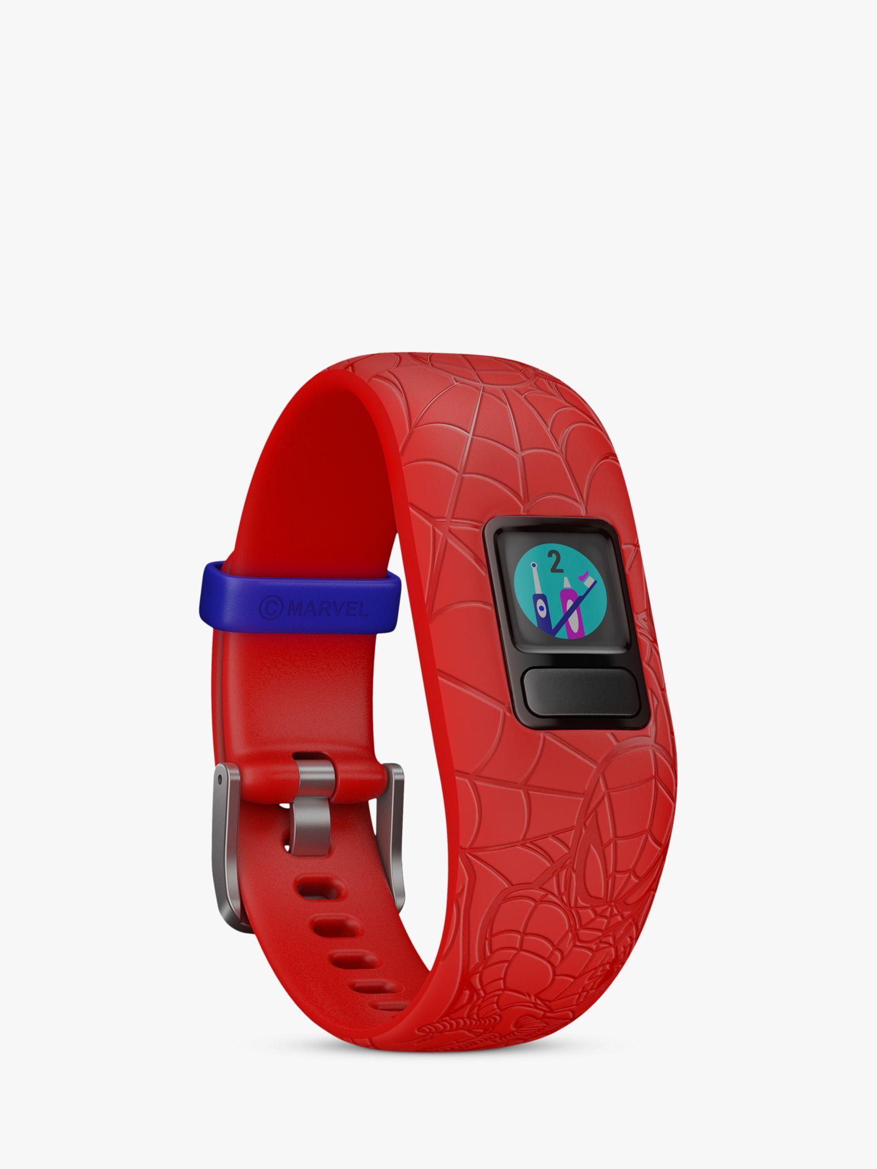 Garmin Garmin vivofit jr. 2, Adjustable Marvel Spider-Man Activity Tracker and Watch for Children