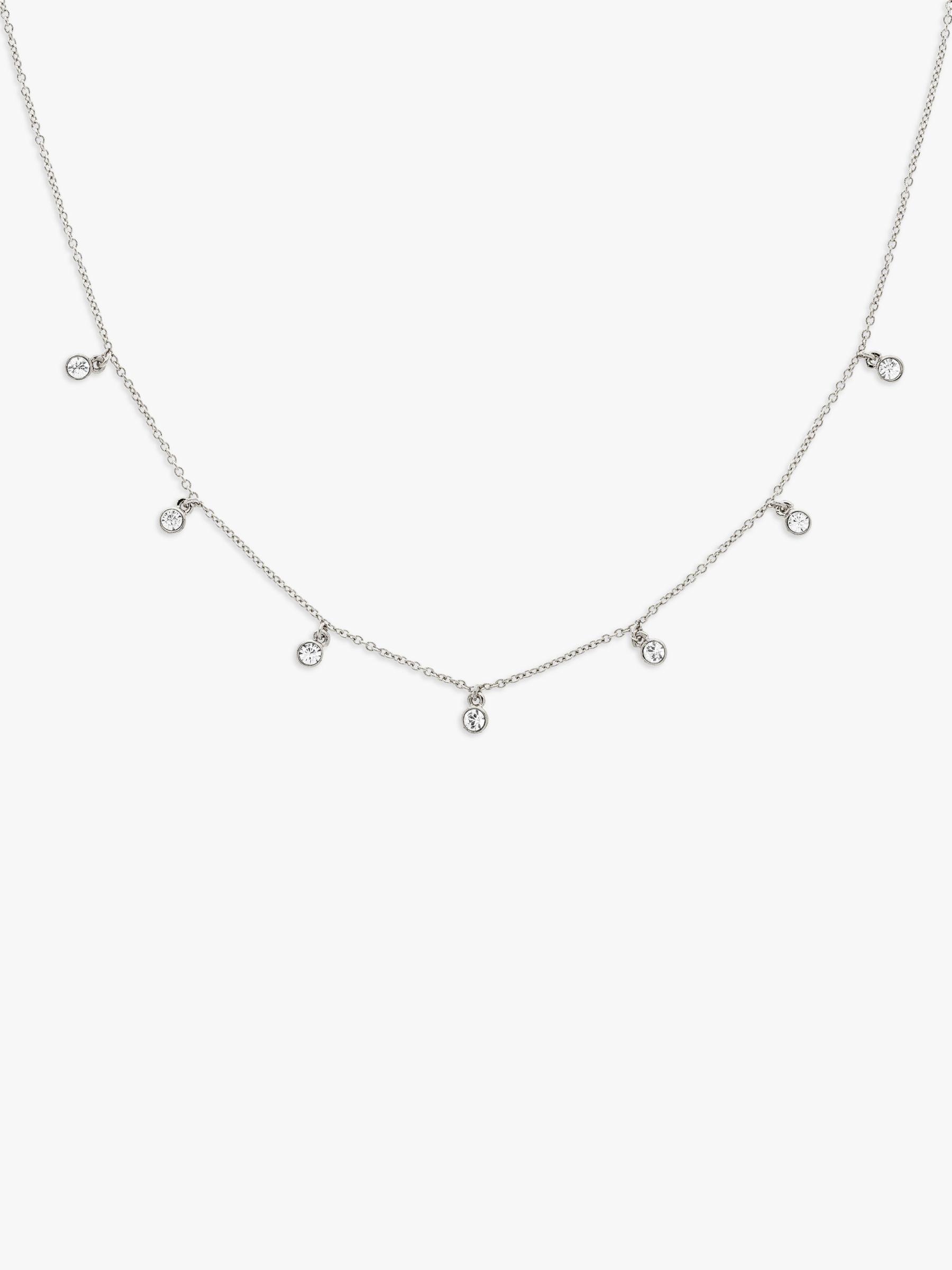 Melissa Odabash Melissa Odabash Swarovski Crystal Drop Chain Necklace