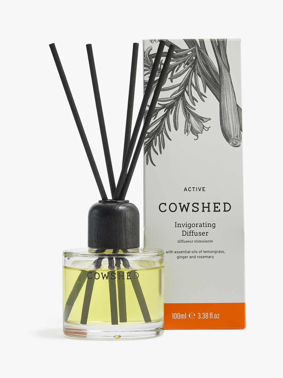 Cowshed Cowshed Active Invigorating Diffuser, 100ml