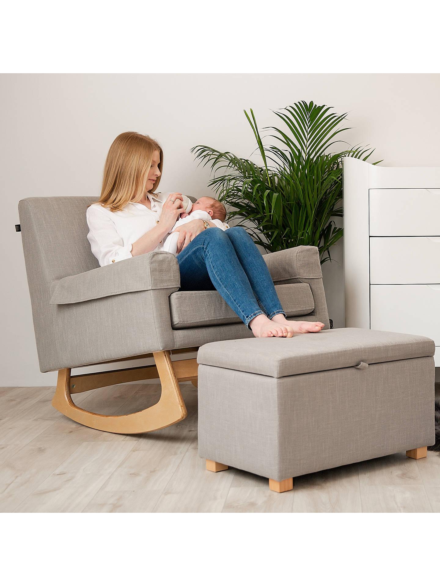 Wondrous Gaia Baby Serena Nursing Rocking Chair Oat Short Links Chair Design For Home Short Linksinfo