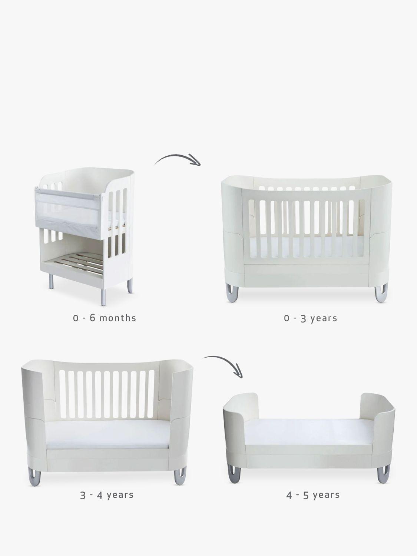 Gaia Baby Serena Complete Sleep+ Co-Sleeper Bedside Crib & Cotbed