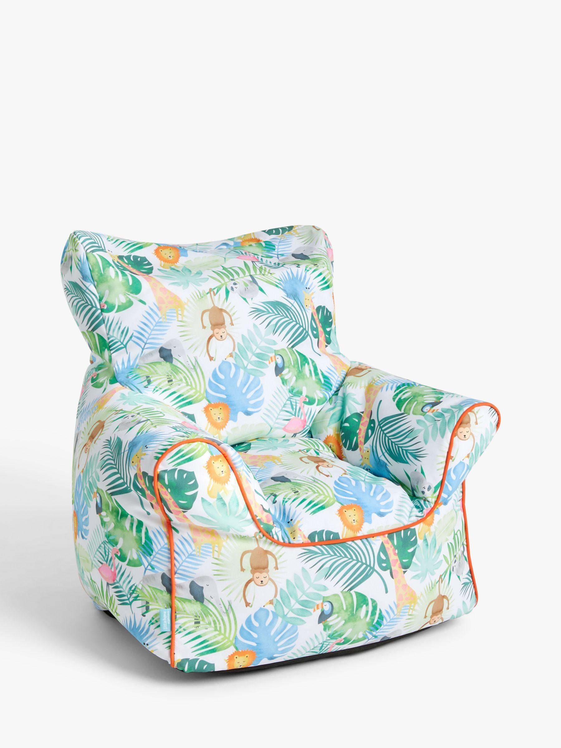 little home at John Lewis Safari & Friends Bean Bag Chair, Multi