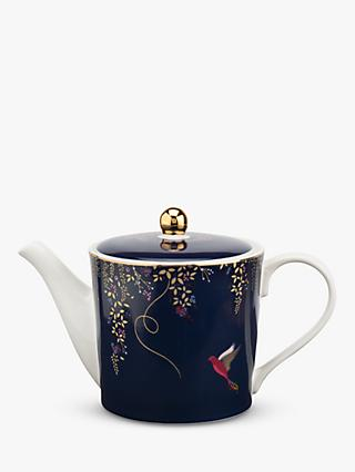 Sara Miller Chelsea Collection Teapot, 600ml, Navy