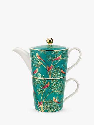 Sara Miller Chelsea Collection Tea-For-One Teapot, 340ml, Green