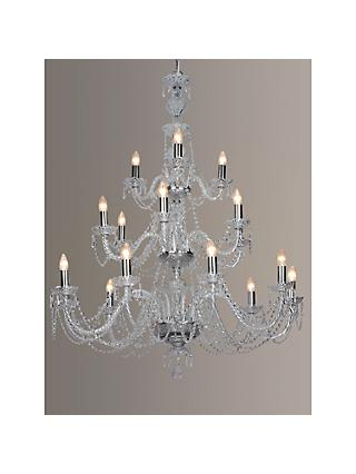 Impex Marie Theresa Chandelier, 5 Arm, ClearGold