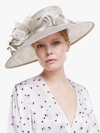 John Lewis & Partners Lauren Loop Wide Brim Occasion Hat