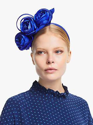 John Lewis & Partners Chloe Triple Flower Fascinator