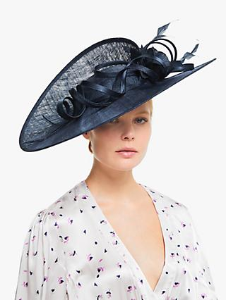John Lewis & Partners Mimi Flower and Loop Oval Disc Occasion Hat