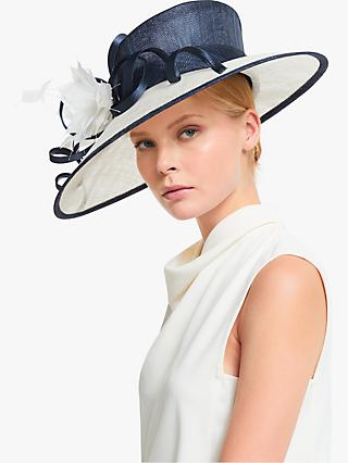 John Lewis & Partners Lauren Loop Wide Brim Occasion Hat