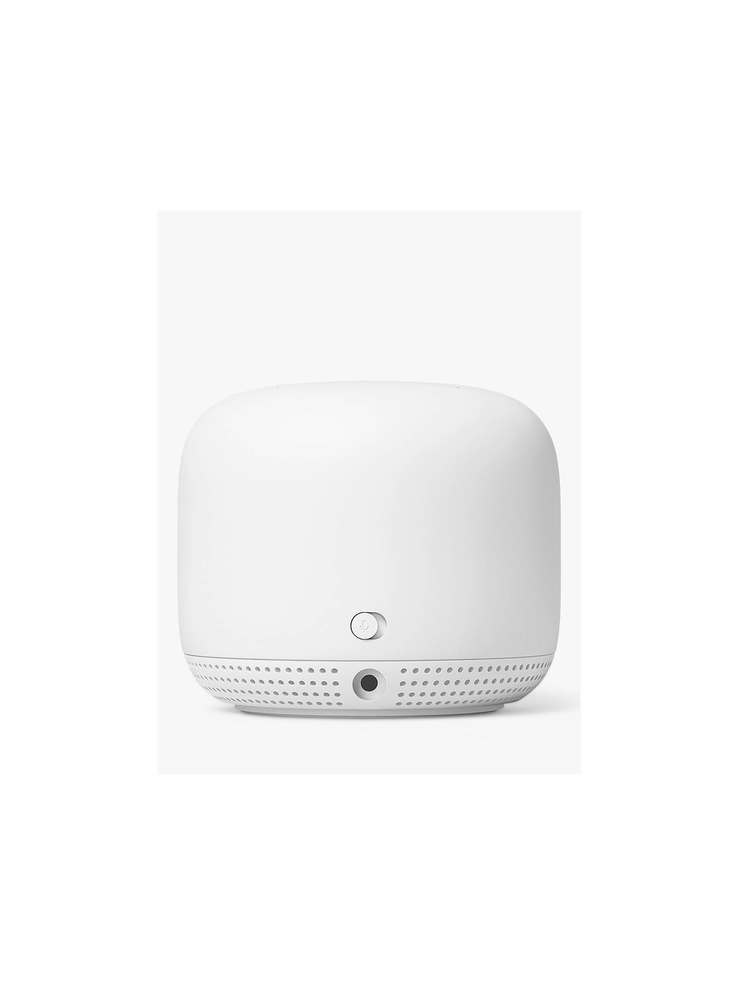Buy Google Nest Wi-Fi Router with One Google Nest Wi-Fi Point Add-on Wi-Fi Extender Online at johnlewis.com
