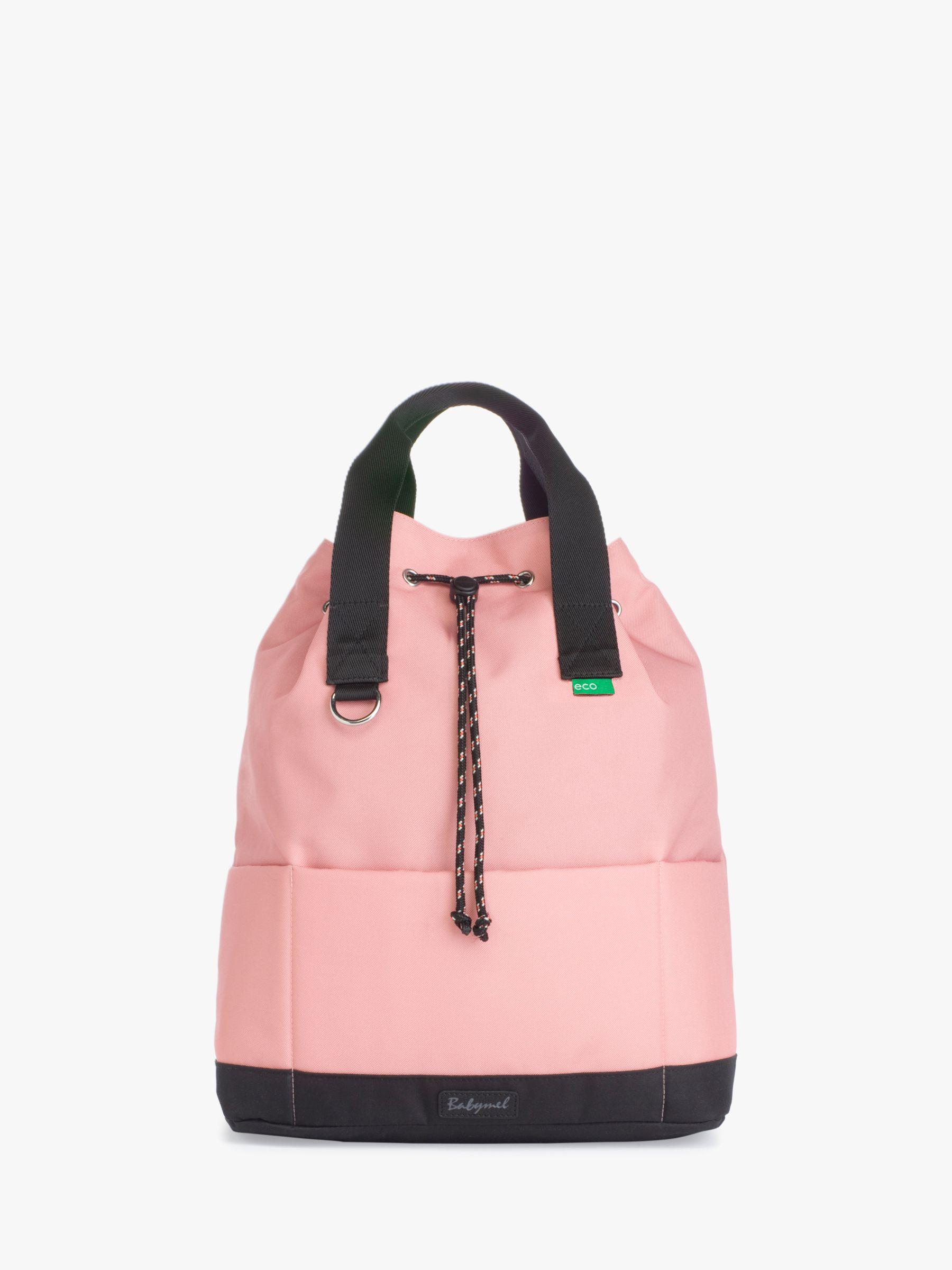 Babymel Babymel Top 'n' Tail Draw String Backpack Changing Bag, Pink