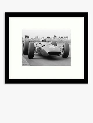 Getty Images - Number Four Ferrari Wood Framed Print & Mount, 49.5 x 57.5cm