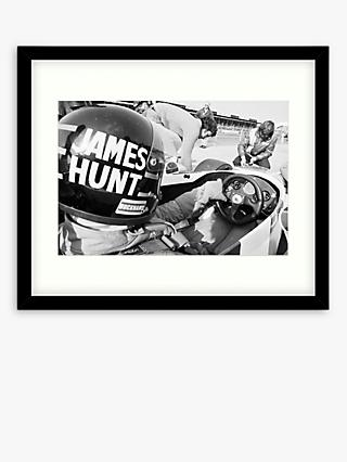 Getty Images - James Hunt Wood Framed Print & Mount, 49.5 x 64.5cm