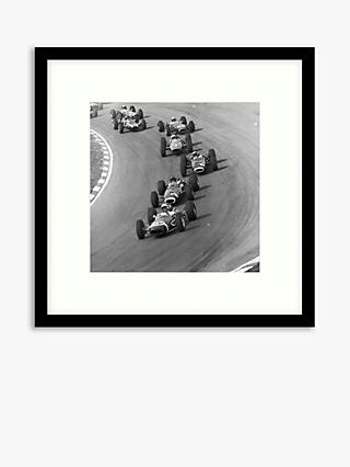 Getty Images - Top Drivers Wood Framed Print & Mount, 59.5 x 59.5cm