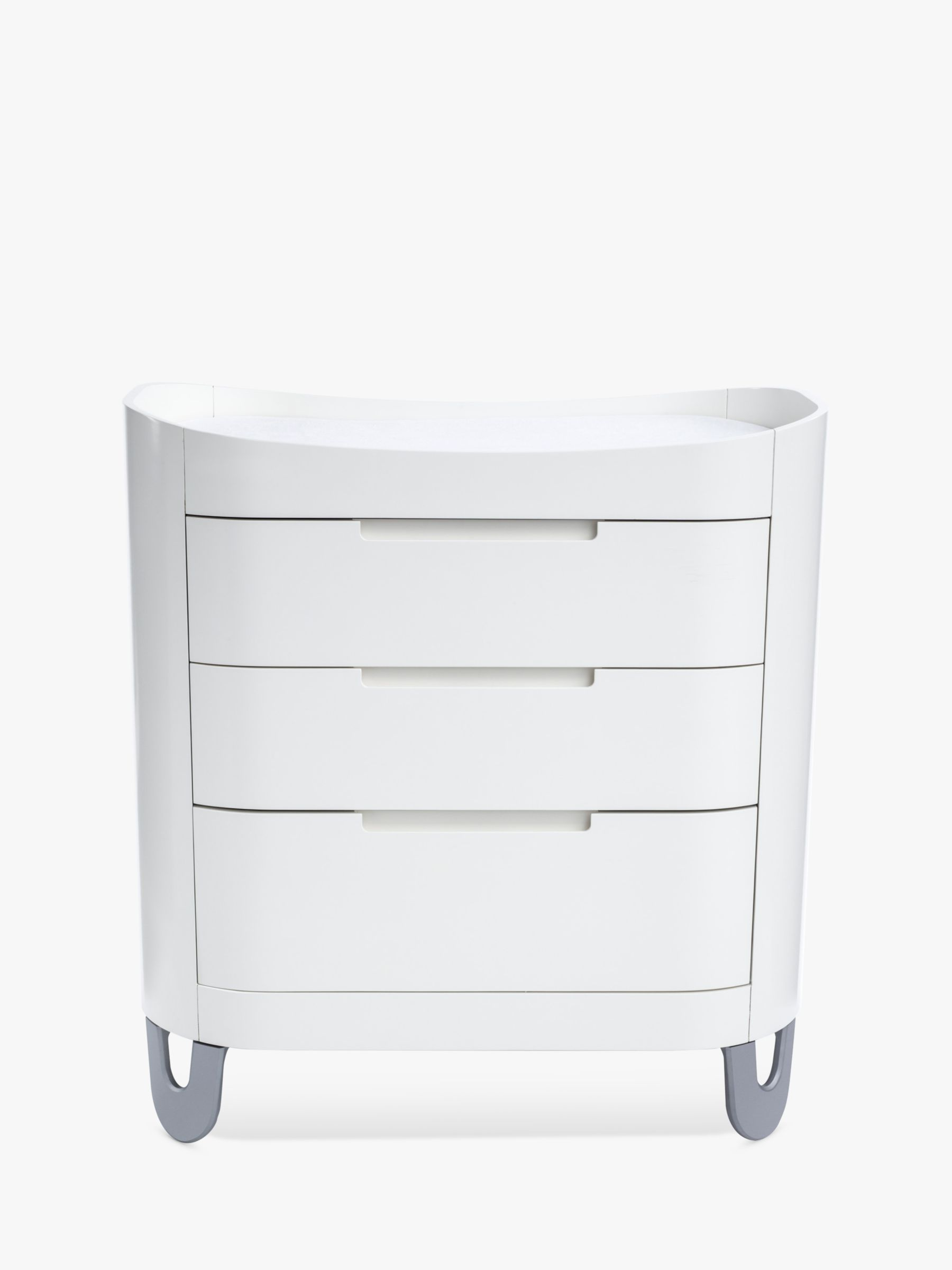 Gaia Baby Serena Changing Unit and Dresser, White