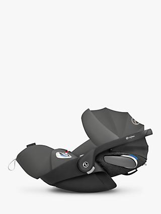 Cybex Cloud Z i-Size Group 0+ Baby Car Seat, Soho Grey