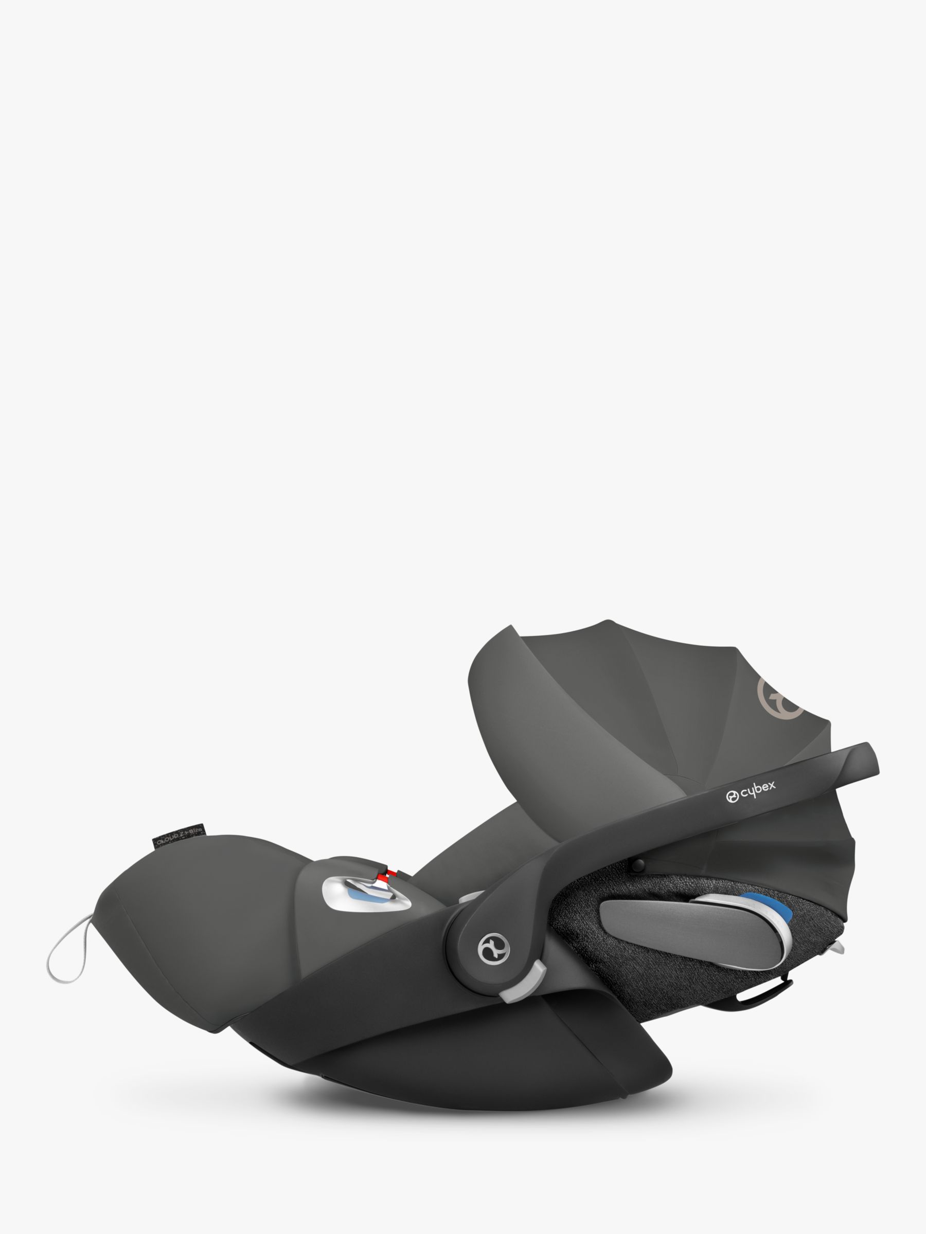Cybex Cybex Cloud Z i-Size Group 0+ Baby Car Seat, Soho Grey