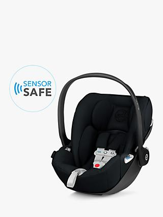 Cybex Cloud Z i-Size Group 0+ Baby Car Seat with Sensorsafe, Deep Black