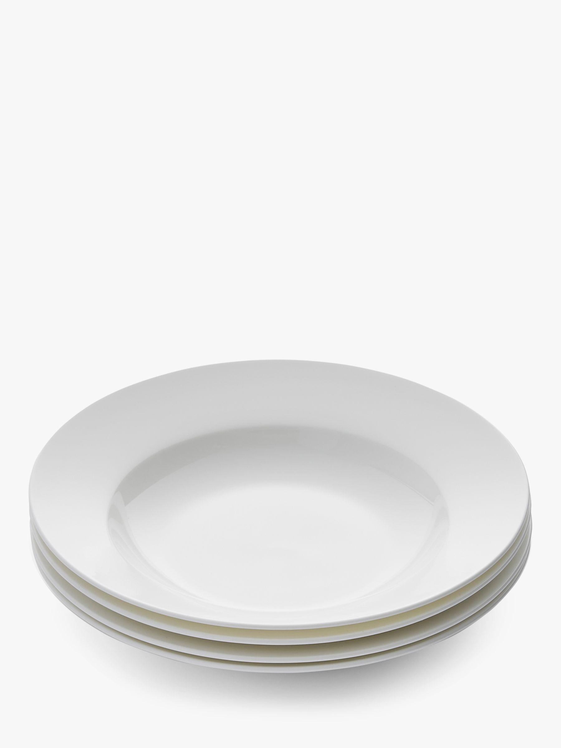 Royal Worcester Royal Worcester Serendipity Bone China Soup Bowls, 24cm, Set of 4, White