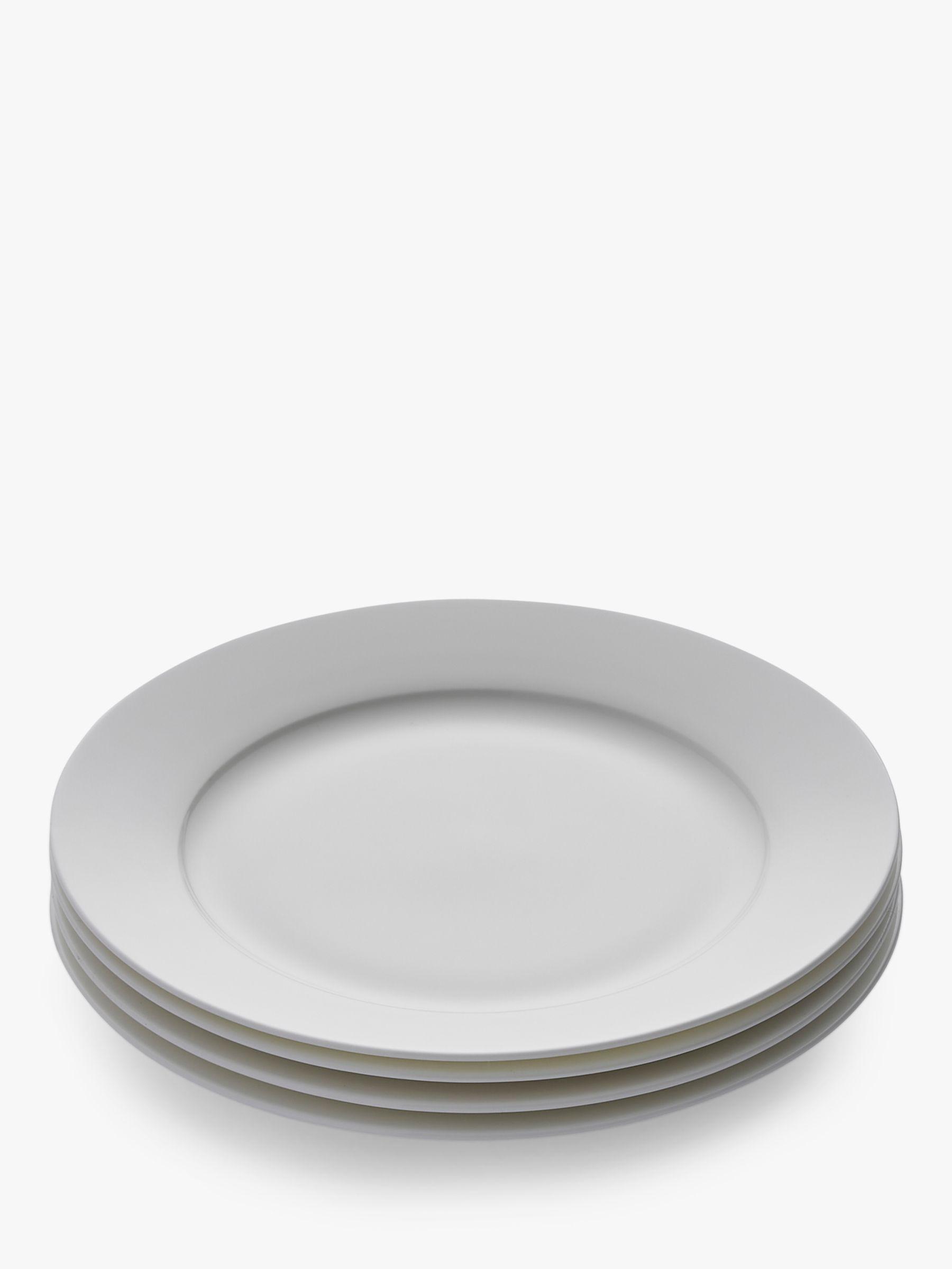 Royal Worcester Royal Worcester Serendipity Bone China Dessert Plates, 21cm, Set of 4, White