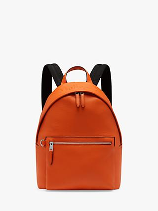 Mulberry Heavy Grain Leather Zipped Backpack