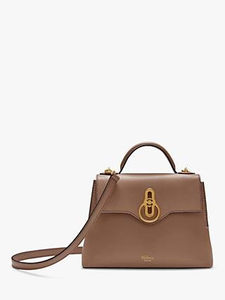Mulberry Mini Seaton Silky Calf's Leather Cross Body Bag, Blush