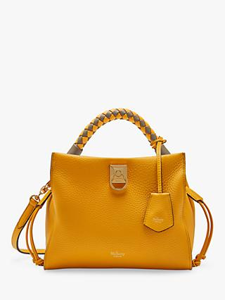 Mulberry Small Iris Heavy Grain & Silky Calf's Leather Shoulder Bag